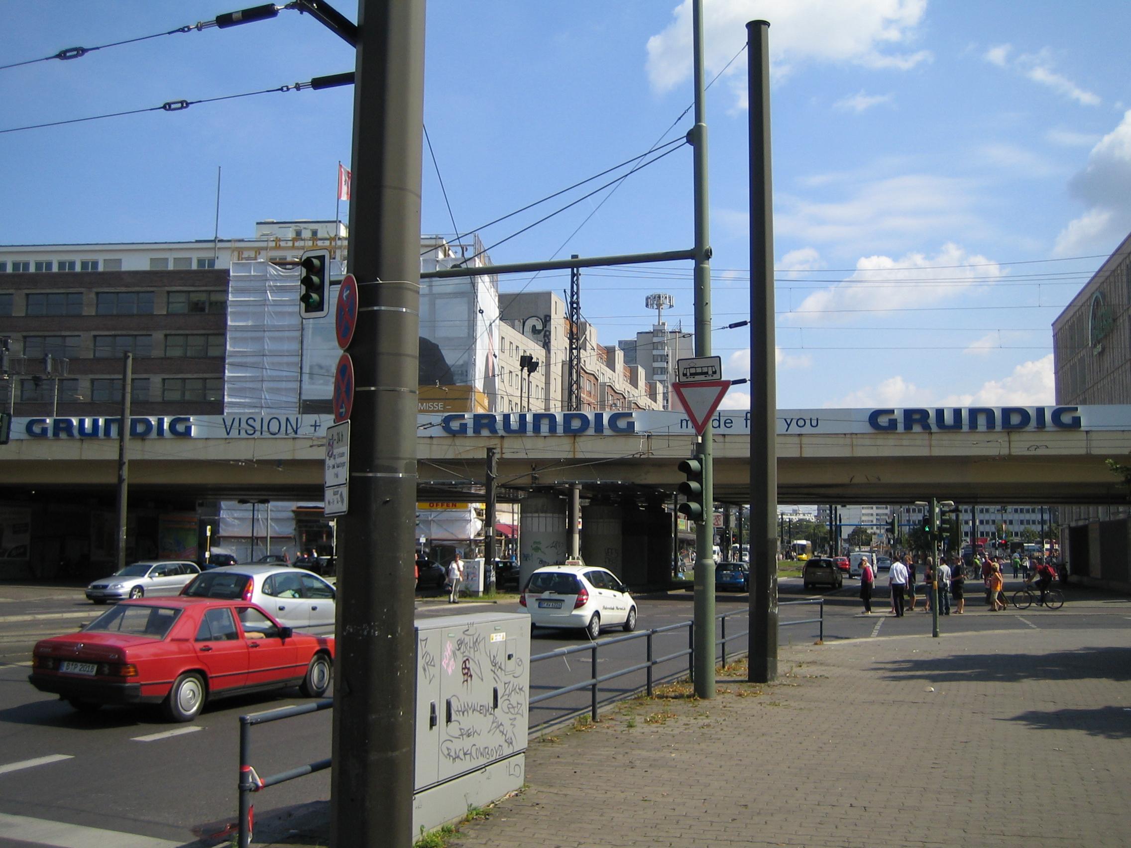 Tilfældigt sted i Berlin